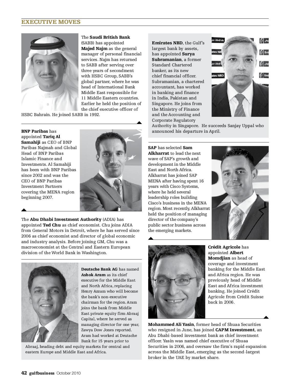 Gulf Business | October 2010 by Motivate Publishing - issuu