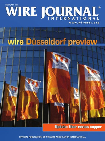 wire Dusseldorf preview by Wire Journal International, Inc  - issuu