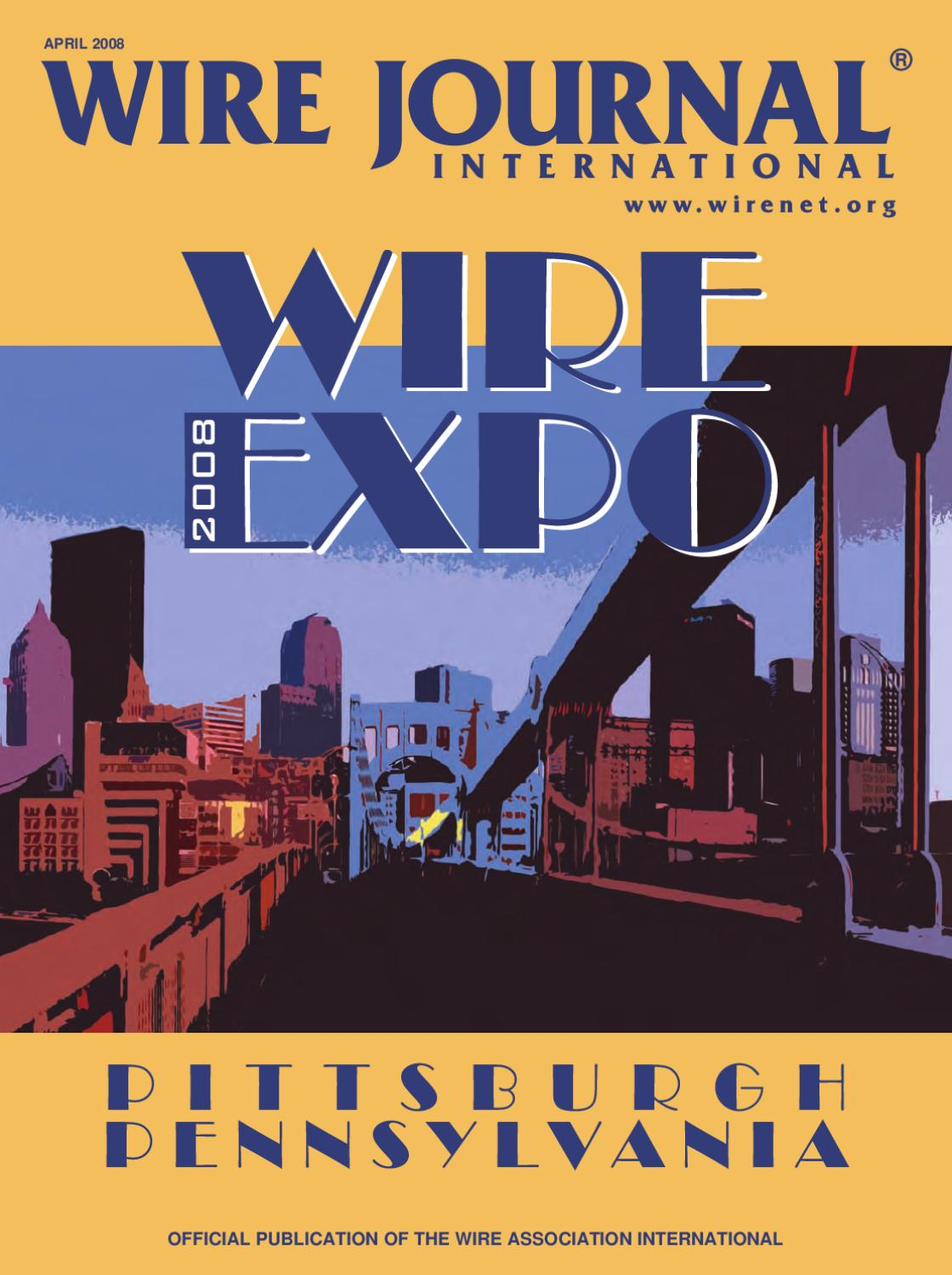Wire Expo 2008 Preview By Journal International Inc Issuu Wiring Instructions Interactive Brokers