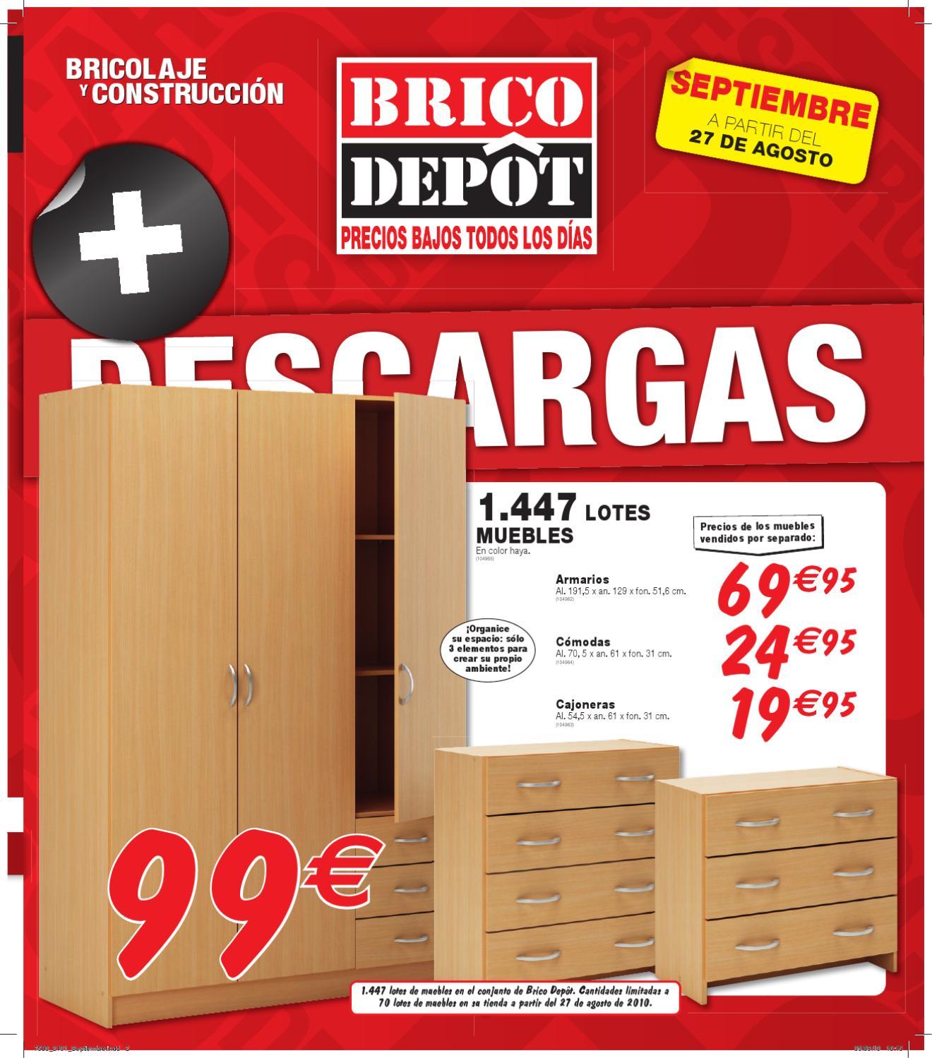 Armarios en brico depot excellent good amazing oferta aire bricodepot with oferta aire - Armario resina bricodepot ...