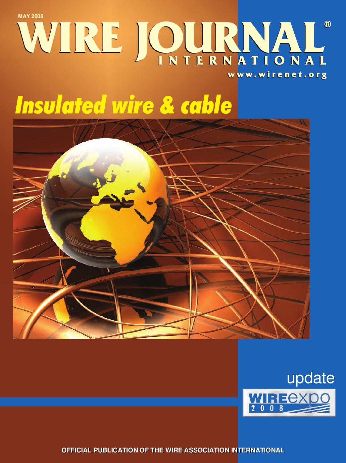 Insulated wire & cable by Wire Journal International, Inc. - issuu