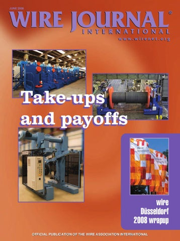 Take Ups And Payoffs By Wire Journal International Inc