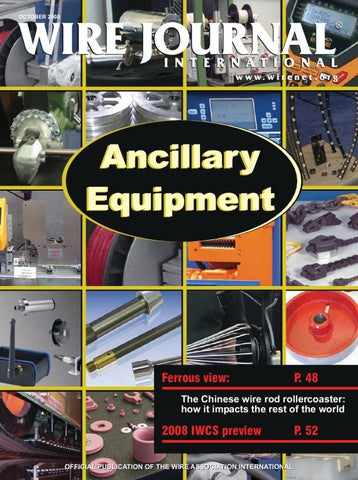 Ancillary Equipment by Wire Journal International, Inc. - issuu on