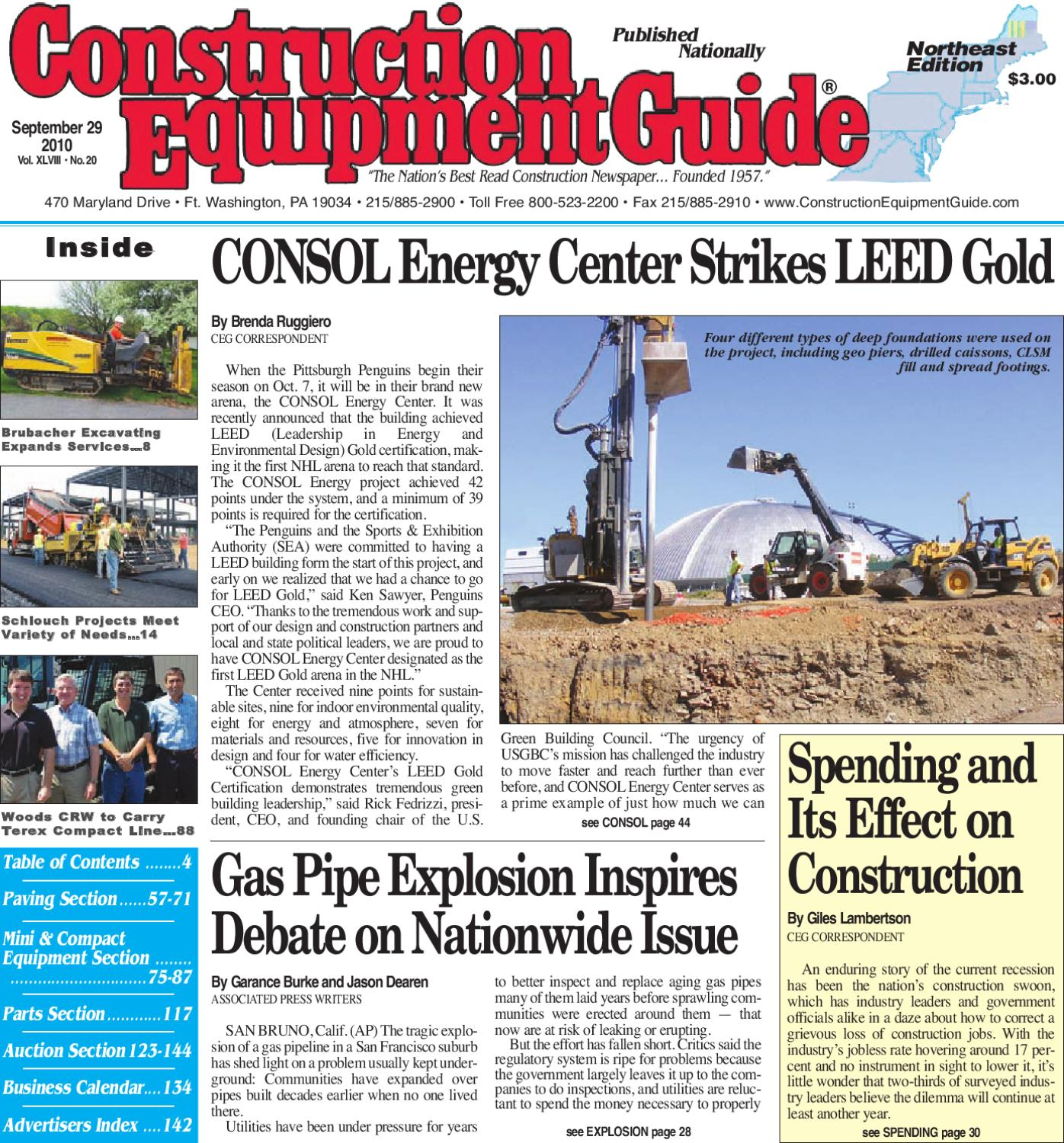 Northeast 20, 2010 by Construction Equipment Guide - issuu