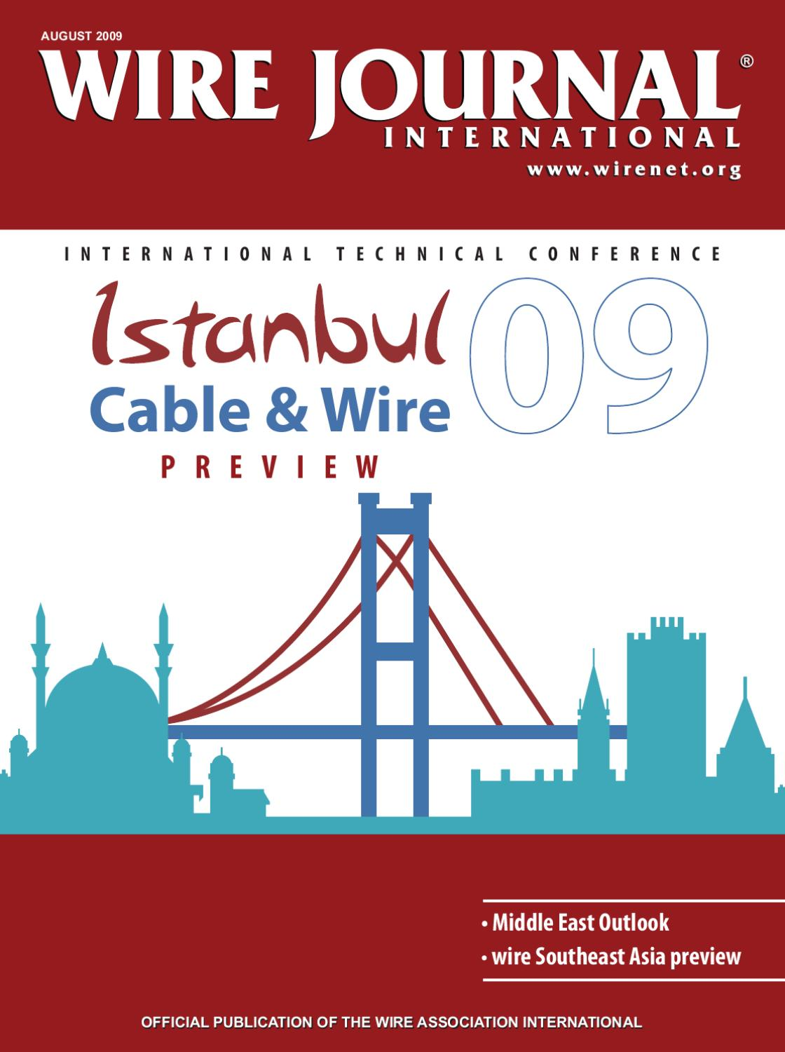 Istanbul Cable & Wire 2009 Preview by Wire Journal International ...