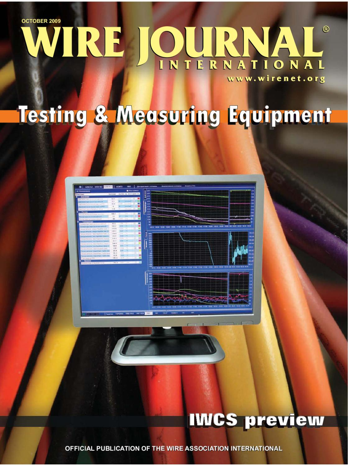 Testing & Measuring Equipment by Wire Journal International, Inc