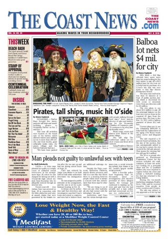 The Coast News Oct 8 2010 By Coast News Group Issuu