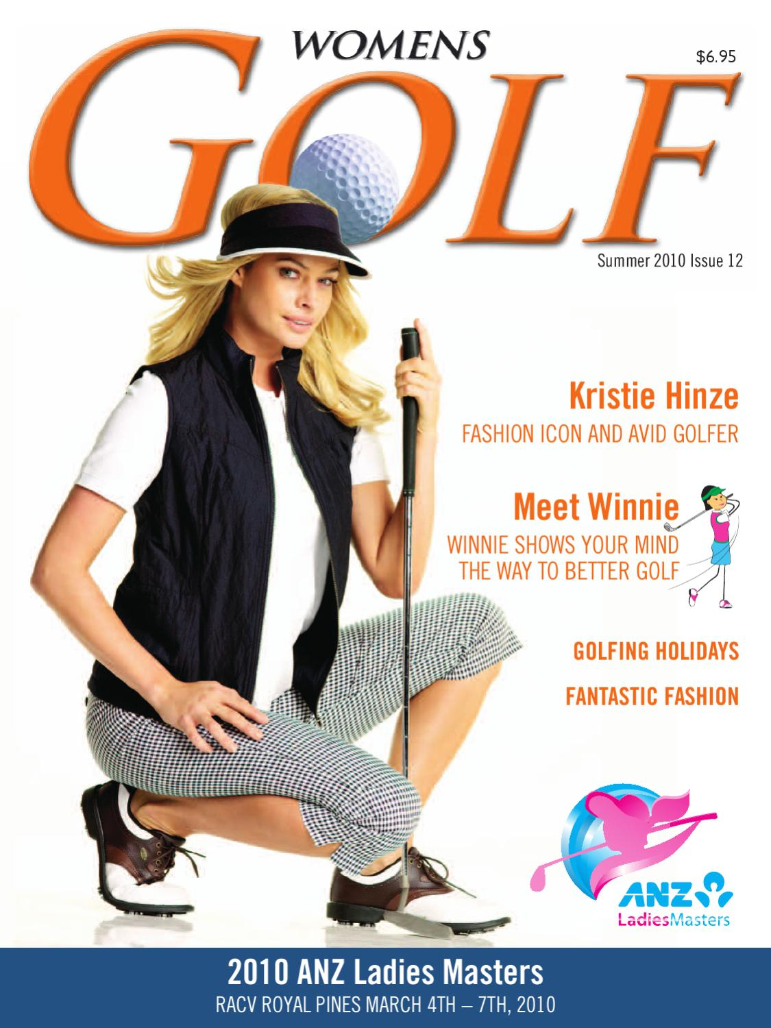 Womens Golf Magazine Summer 2010 Issue 12 by Ladies in SPORT Publications -  issuu
