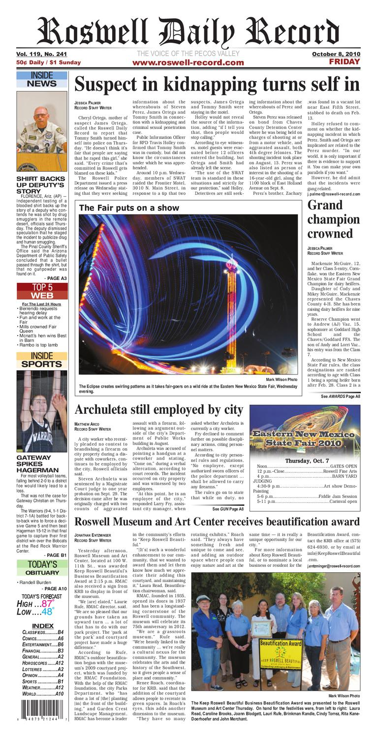 Newspaper By Roswell Daily Record Issuu Displaying 16gt Images For Current Electricity Kids