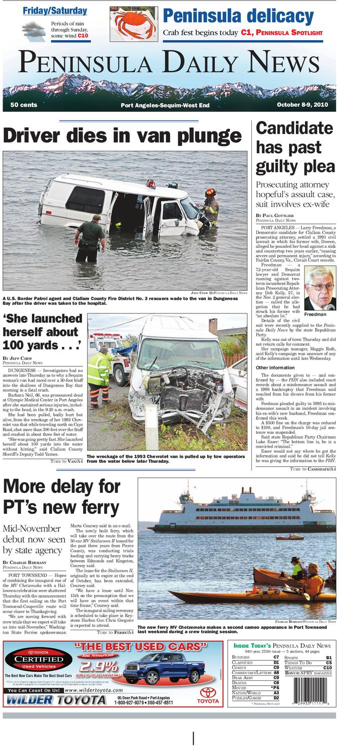 5f7cff4001103 PDN10082010C by Peninsula Daily News   Sequim Gazette - issuu