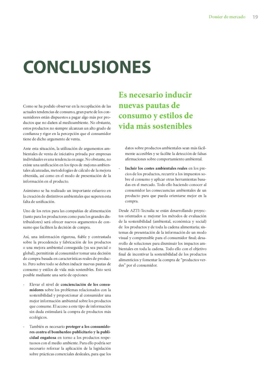 Marketing Verde Tendencias En Marketing Y Consumo Ambiental En El Sector Alimentario By Azti Issuu