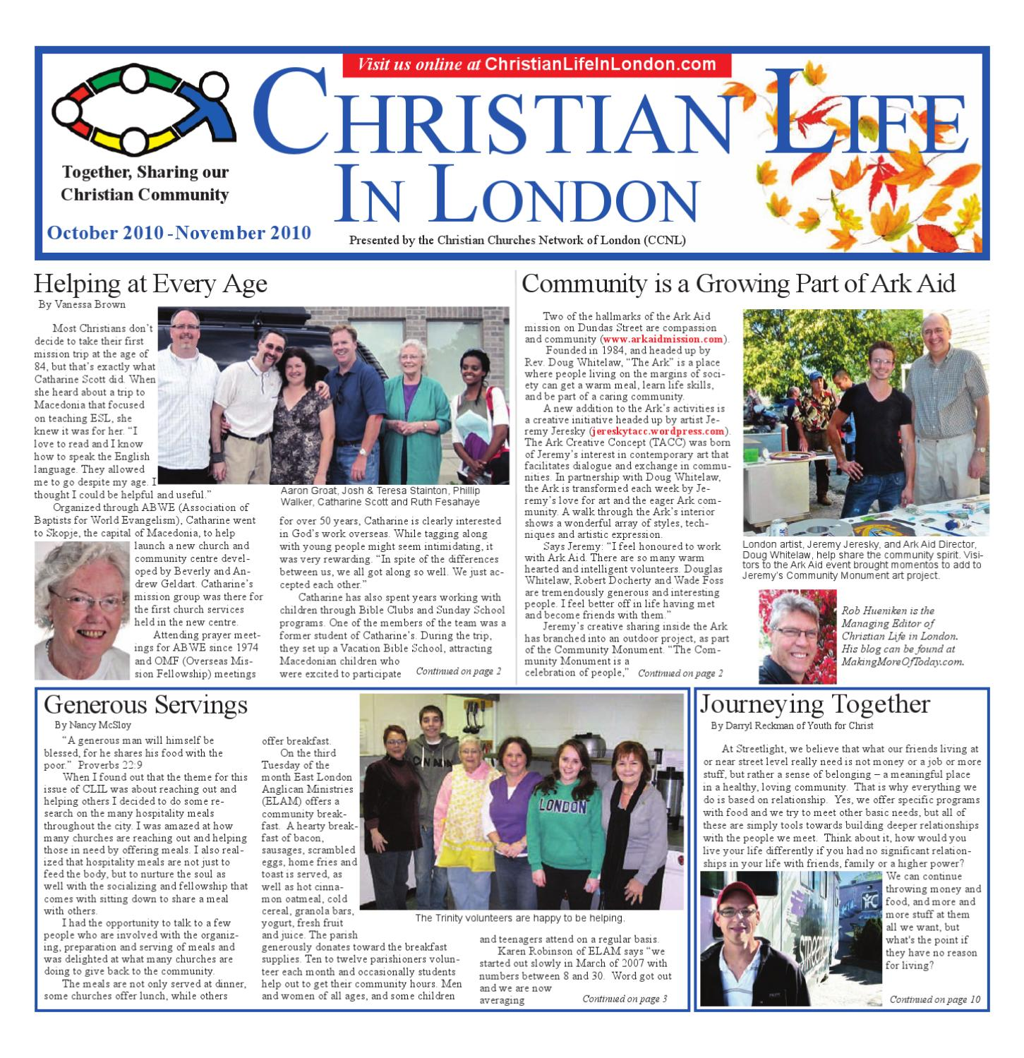 Christian Life in London by Douglas Whitelaw - issuu