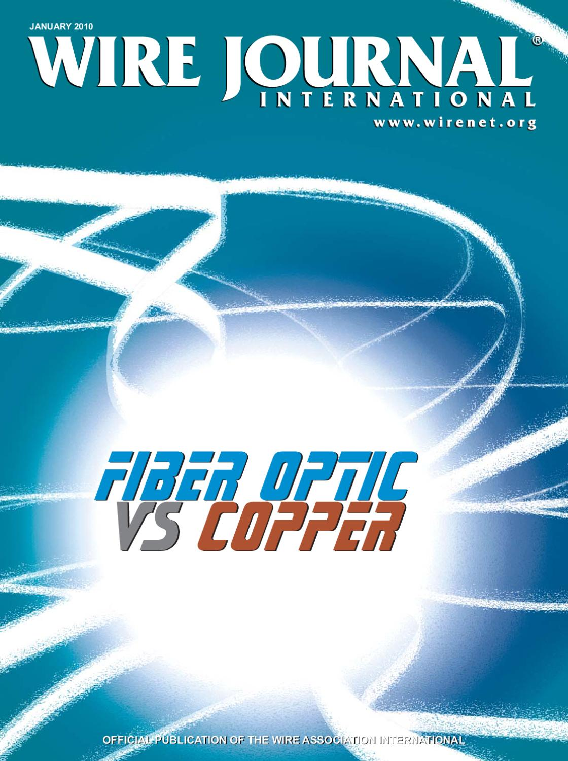 Fiber Optic vs Copper by Wire Journal International, Inc. - issuu