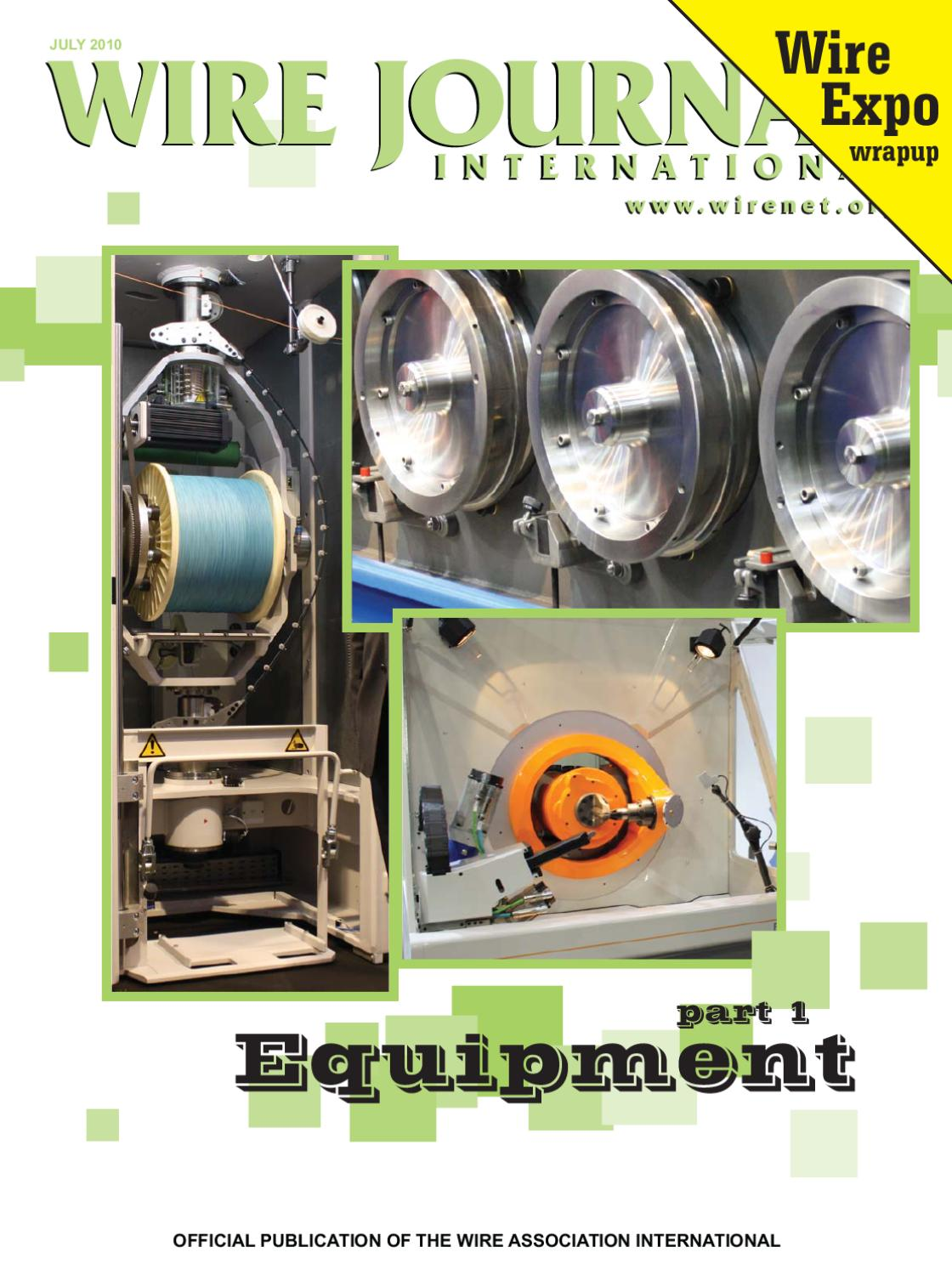 page_1 wire expo 2008 preview by wire journal international, inc issuu Wire Harness Assembly at bayanpartner.co