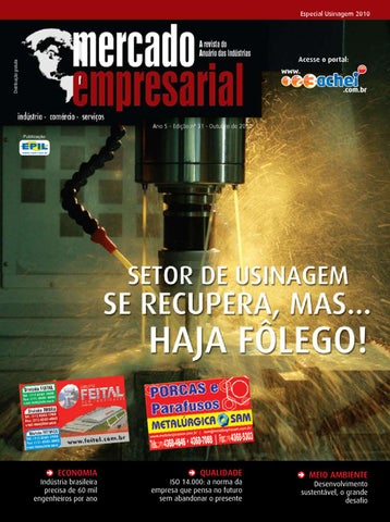 0a4b3e3927ea5 Revista Mercado Empresarial - Usinagem2010 by 123achei portal - issuu