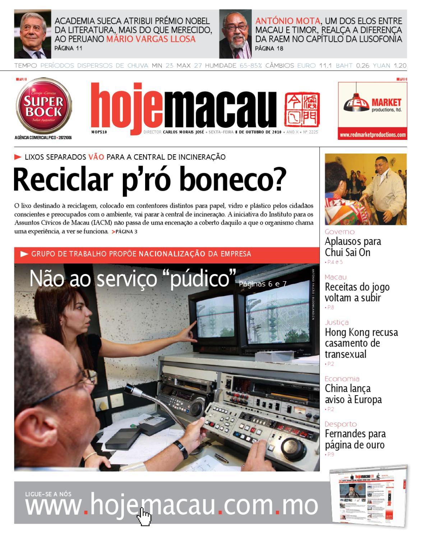 56b311a861d Hoje Macau • 2010.10.08  2224 by Jornal Hoje Macau - issuu