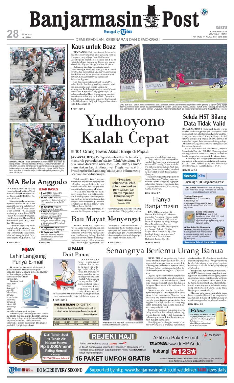Banjarmasin Post Edisi Sabtu 9 Oktober 2010 By Issuu Program Hemat Rejeki Marketing Peluang Bisnis