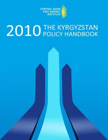 the kyrgyzstan policy handbook by zohir issuu