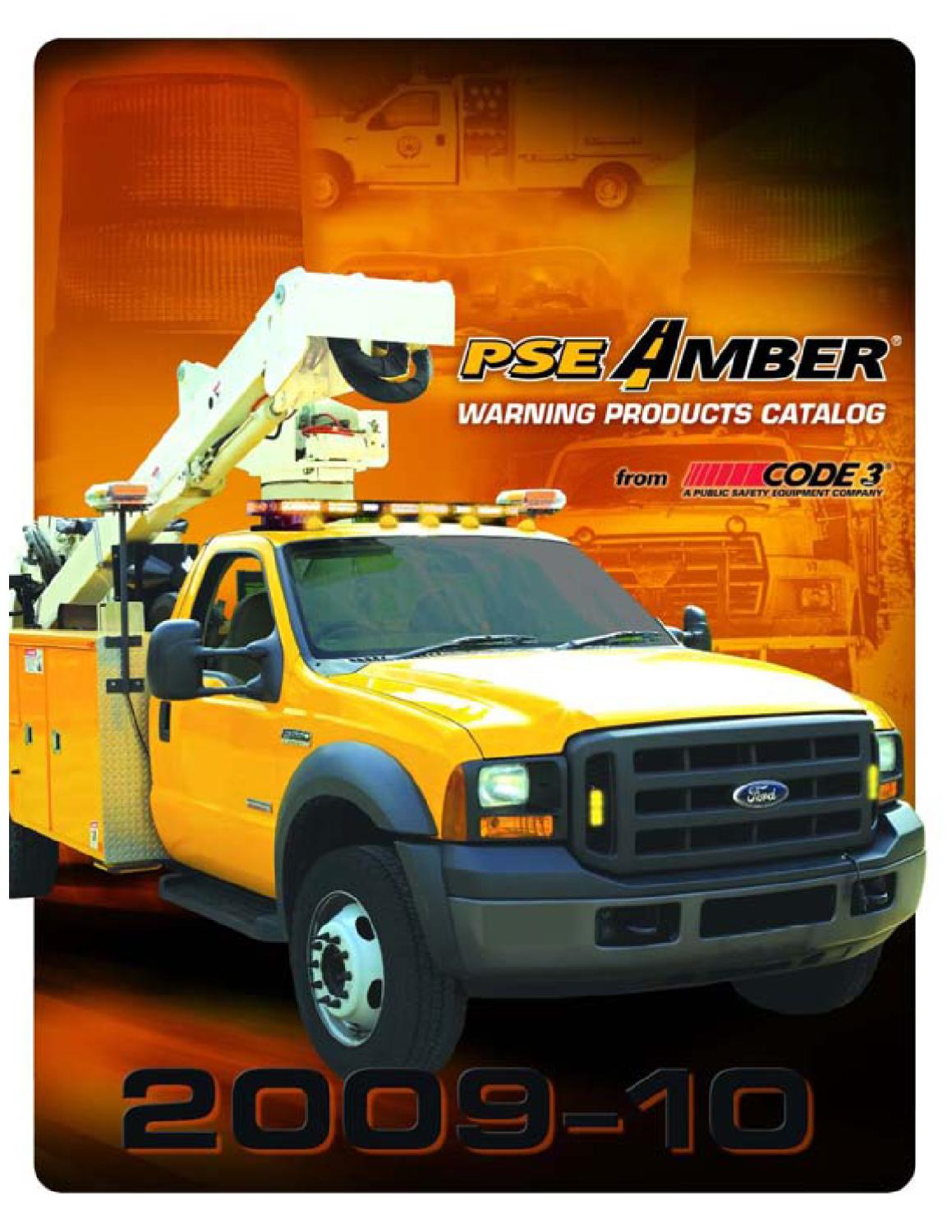 Code 3 Amber Products Catalog By Canyon Fleet Outfitters Issuu Flasher Wiring Diagram