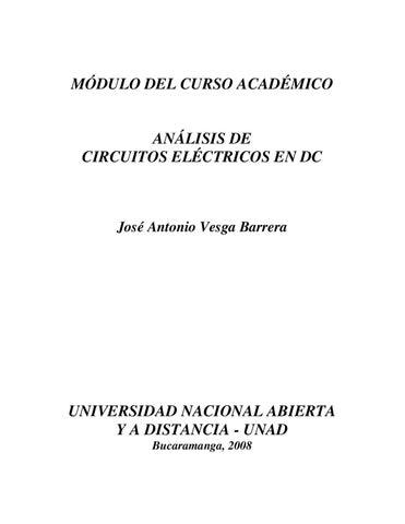 analisis de circuitos DC by Juan Carlos Mendoza Real - issuu