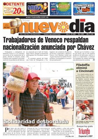 Diario Nuevodia Lunes 11-10-2010 by Diario Nuevo Día - issuu 77c4191bb23