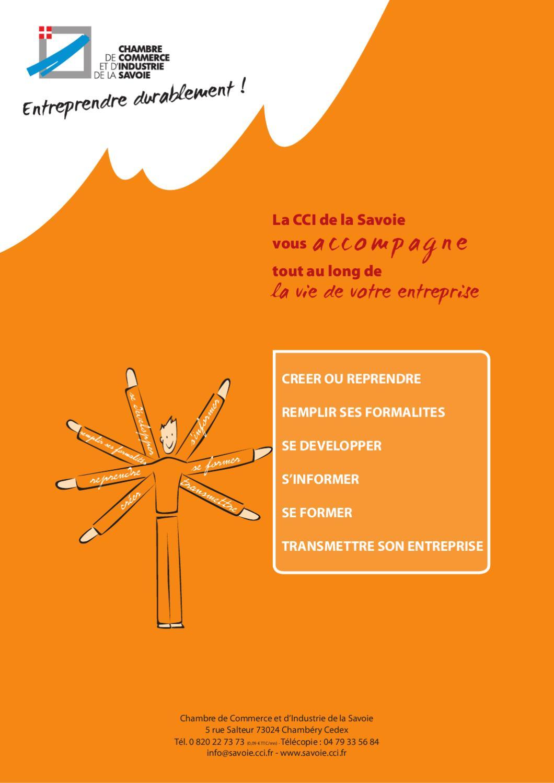 Guide pratique de la cci de la savoie by ccit de la savoie - Chambre de commerce chambery ...