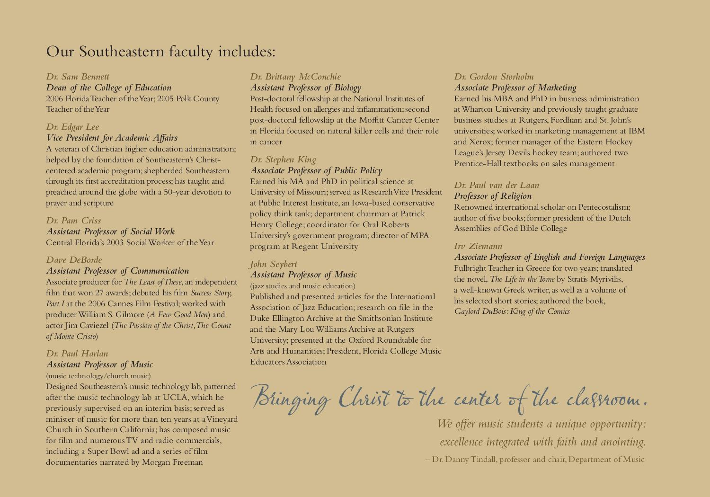 Southeastern University Viewbook by Southeastern University