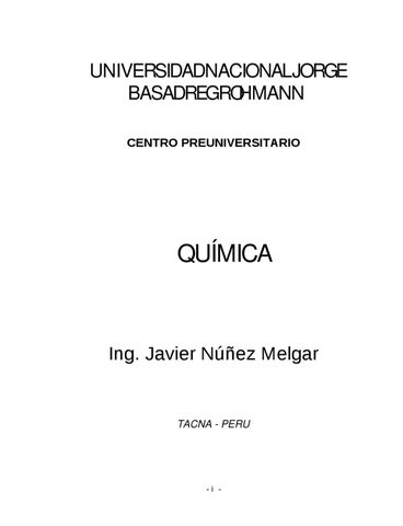 Quimica de preuniversitario by luis Fernandez - issuu