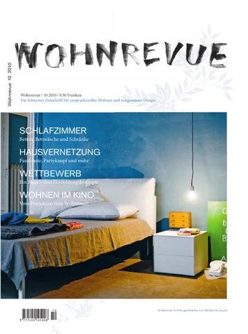 Wohnrevue 10 2010 by Boll Verlag - issuu