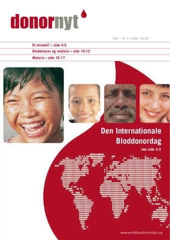 bloddonor krav
