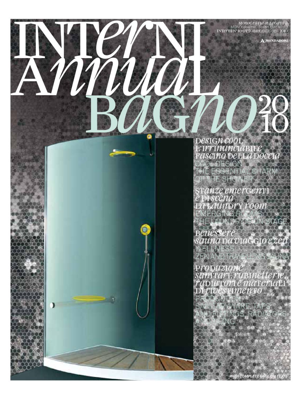 Carbonari Luciano Arredo Bagno.Interni Annual Bagno 2010 By Interni Magazine Issuu