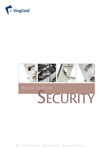 Electronic Locking Solutions by Gustav H - issuu