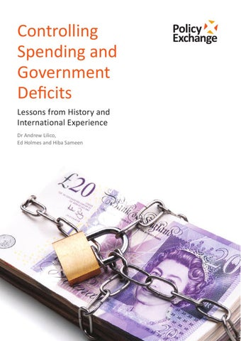 Controlling Spending And Government Deficits: Lessons From History ...