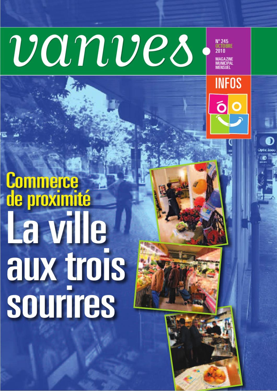 Vanves Infos N 245 Octobre 2010 By Mairie De Vanves Direction De
