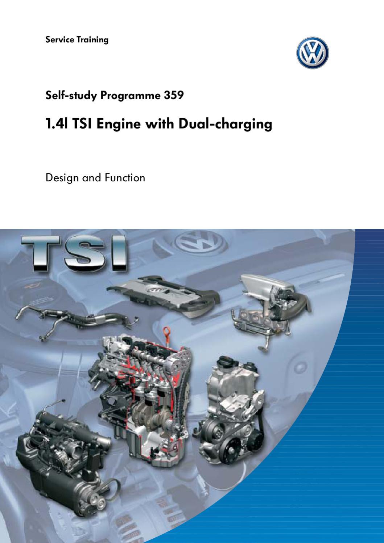 1 4l Tsi Engine With Dual-charging By Kostas Tsif
