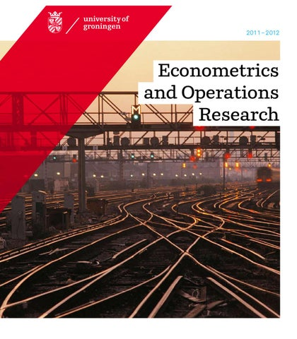 Student Helpdesk Rug.Econometrics And Operations Research By Feb Rug Issuu