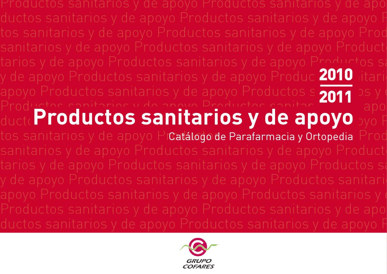 9cec307d Catálogo Ortopedia Cofares by Cris Idoate - issuu