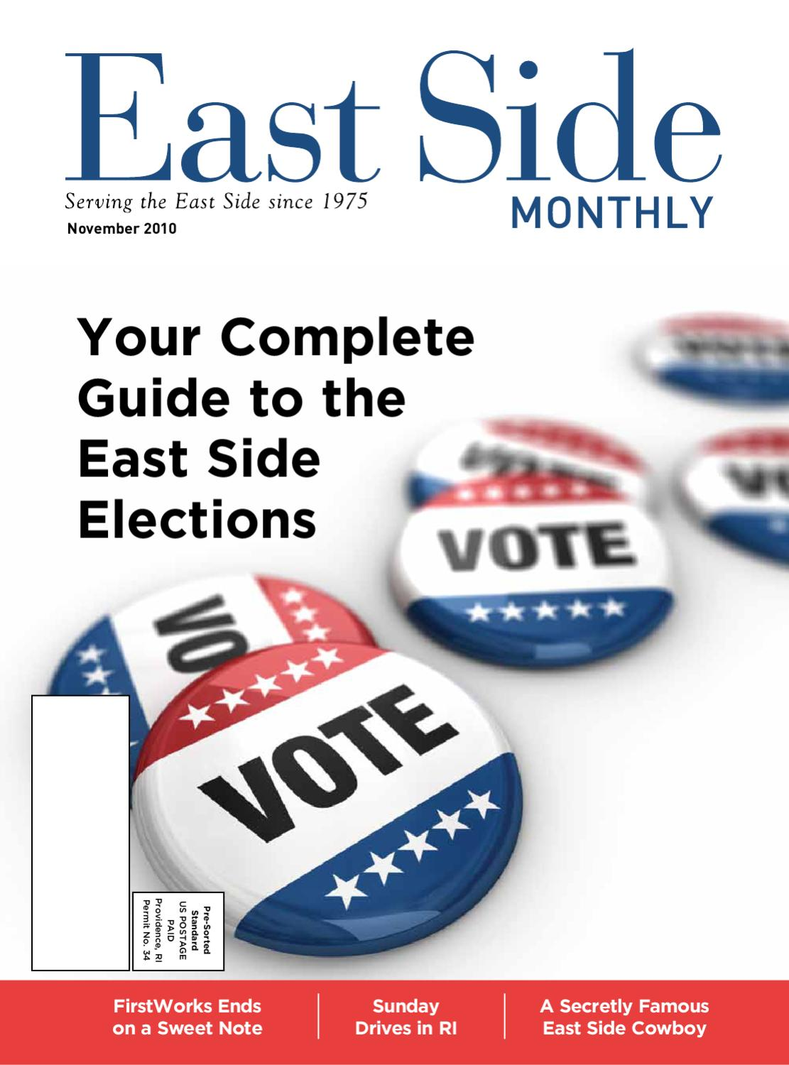 East Side Monthly November 2010 by Providence Media - issuu