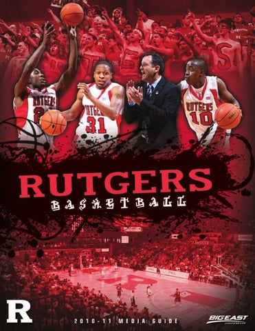 c2242f14f817 2010-11 Rutgers Men s Basketball Media Guide by Rutgers Athletics ...