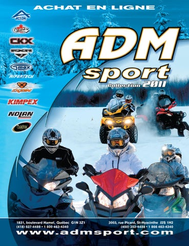 9d18993f4ab ADM Sport - Catalogue Motoneige Quad 2011 by ADM Sport - issuu