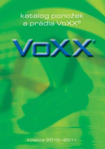 e3ebd1a7909 Katalog VoXX ponožky 2010 by Libor Jíra - nejen ČESKÉ PONOŽKY - issuu