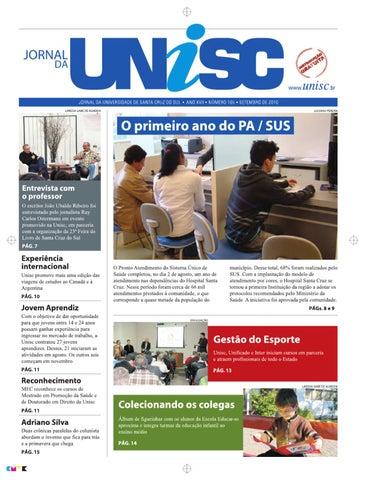 b08f07bf9 Jornal da UNISC by UNISC Santa Cruz do Sul - issuu