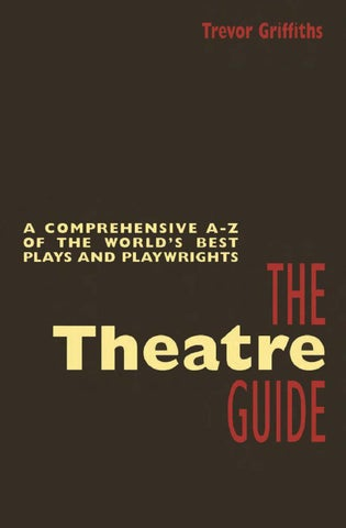 Theatre Guide By Mike Jones Issuu