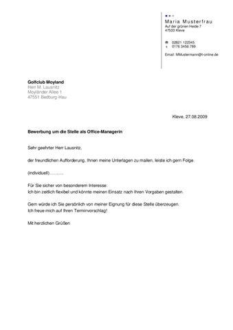 Musterbewerbung Sekretärin By Michael Koppers - Issuu