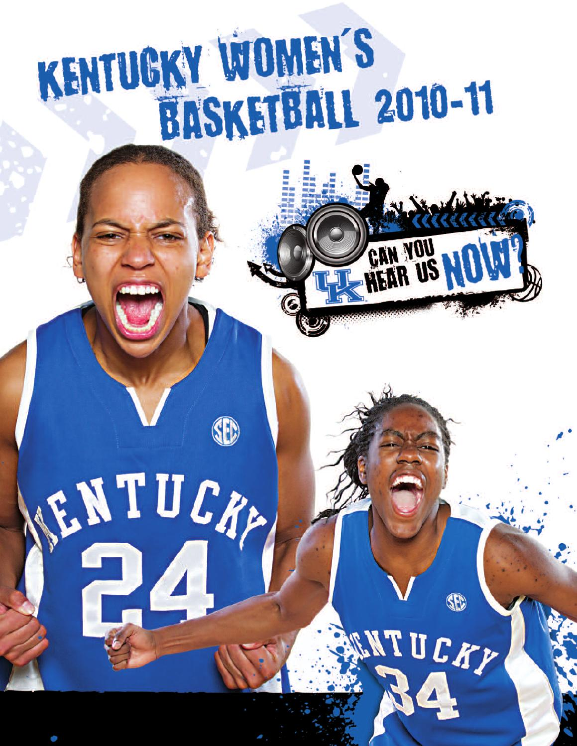 2010 11 Uk Hoops Yearbook By University Of Kentucky Athletics Issuu