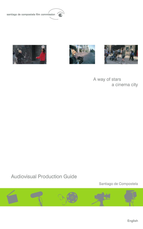 Gu A Da Producci N Audiovisual Ingl S By Informaci N E  # Muebles Santos Boqueixon