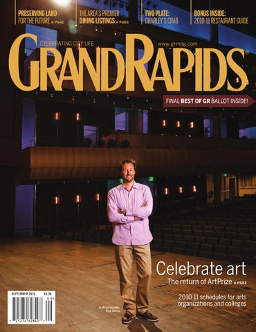 1a990d9d118 September 2010 - GRM by Grand Rapids Magazine - issuu