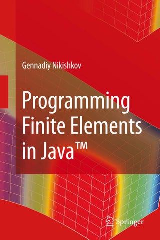 Programming finite elements in java by Riccardo Ricci - issuu