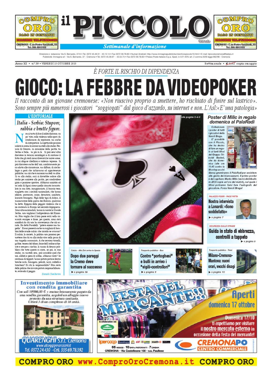 il Piccolo Giornale di Cremona by Daniele Tamburini - issuu 3eebeecb719a