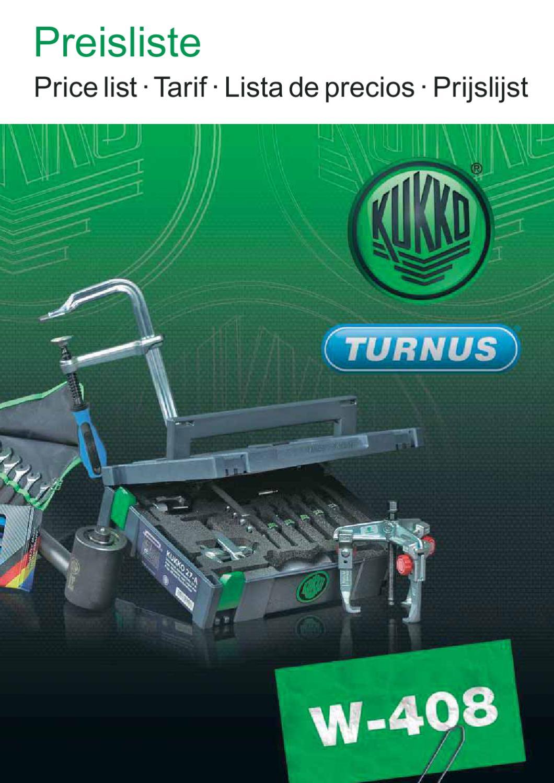 Kukko 51-3 Extractor de esp/árragos Alcance, 18-25 mm